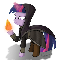Arch-mage of Winterhoof College - Twilight by HankOfficer
