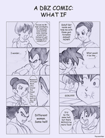 +DBZ: What If?+ by Psyconorikan