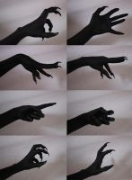 Demon Hands 1 by Tasastock