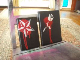 Black and Red by artbyabbey