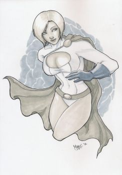 Power Girl by maxcsilver
