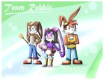 Sidra's Bday pic : Team Rabbit by Morgan-the-Rabbit