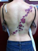 Cherry blossom back by heartsandanchors