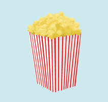 Popcorn by ribcages