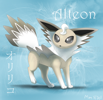 Alteon :Fan Pokemon: by BlazeTBW
