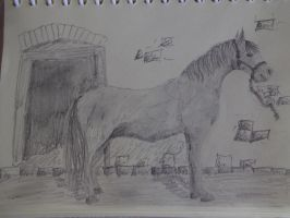 Dreaming Whilst Drawing by SilverNight1079