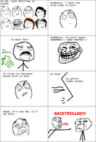 Le Awesome BackTroll by LeoAndBlacky