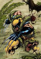 Wolverine jungle by logicfun
