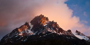 Jagged Mountain Light by Niv24