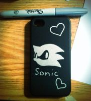 Sonic Team iPhone case by mossears227