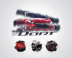 Dodge 2013 by RA-supernal-art
