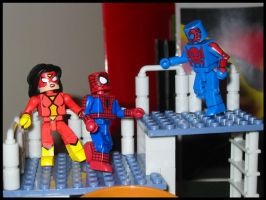 Spidey People by Wom-bat