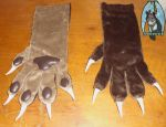 [sold] two colored hand paws by Menevoreth