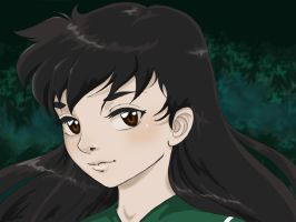 Kagome in the Woods by Sammybunny711