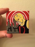 Classic Daredevil by 365daysofpaintings