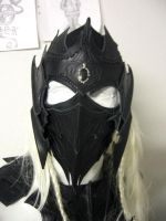 drow helmet pic2 by Sharpener