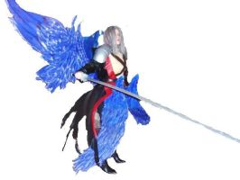 Sephiroth KH 2 by Chaos-Sephi