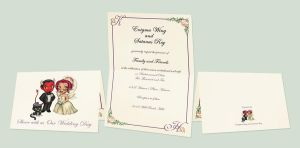 Wedding Invitations by enigmawing