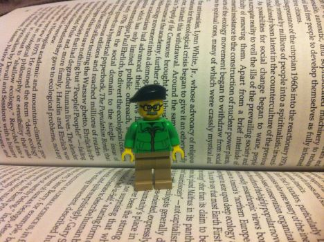 Lego Murray Bookchin by LucifersLego
