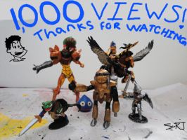 1,000 VIEWS :D by SirRJ