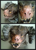 Deathclaw MkII head by Endivinity