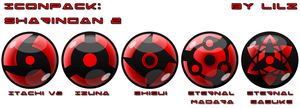 IconPack: Sharingan2 by lilomat