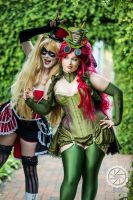 Harley and Ivy by kayz0rbeam