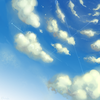 Cloudy Sky by Afterlaughs
