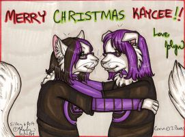Merry Christmas Kaycee by silverwing
