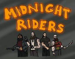 Midnight Riders by OperaGhost21