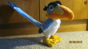 2011 Disney store Zazu plush by Nostalgic90s