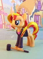 Sunset Shimmer by krowzivitch