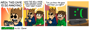 EWCOMIC No.152 - Gamer by eddsworld