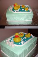 Ducky Cake by ayarel