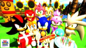24th Sonic Anniversary! by PurpleComet5