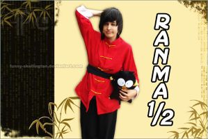 Awkward Ranma by funny-skellington