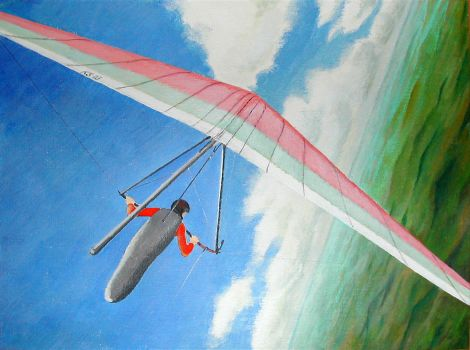hang gliding by siskin