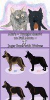 Jager x Noche - GSD litter - :CLOSED: by AkaKennel