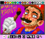 MARIO PAINT by artemis251