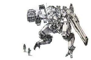 Mech 07  Medium Assault Anti-A by funkychinaman