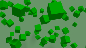 Floating Cubes by Cubicay