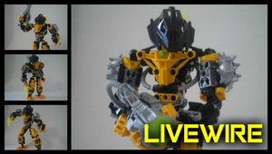 Livewire (The Michelangelo Show's Self Moc) by Leaith