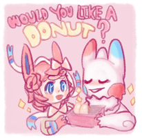 Would you like a donut? by HauntedHomo