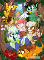Crazy Jungle - A Country Holiday by StePandy