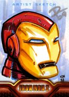 IM2 Sketch Cards: Sentai TOS58 by FrankRapoza