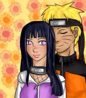 NaruHina-Your Hair Smells Nice by IcyPanther1