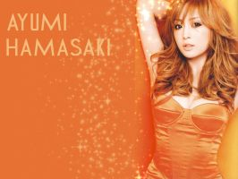 Ayumi Stylish Wallpaper by kawaii-sabine
