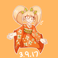 Happy Birthday - Hiyoko Saionji by vanil-la