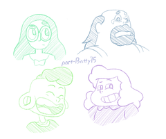 Steven Universe - More Character Studies by partiallyBatty