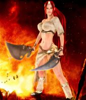 Heavenly Sword by darvarq